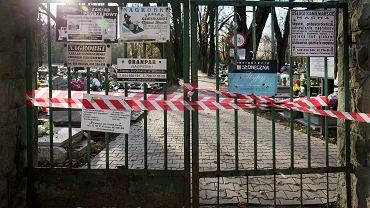 Cmentarze zamknięte z powodu epidemii (zdjęcie ilustracyjne)