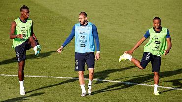 Paul Pogba, Karim Benzema i Patrice Evra