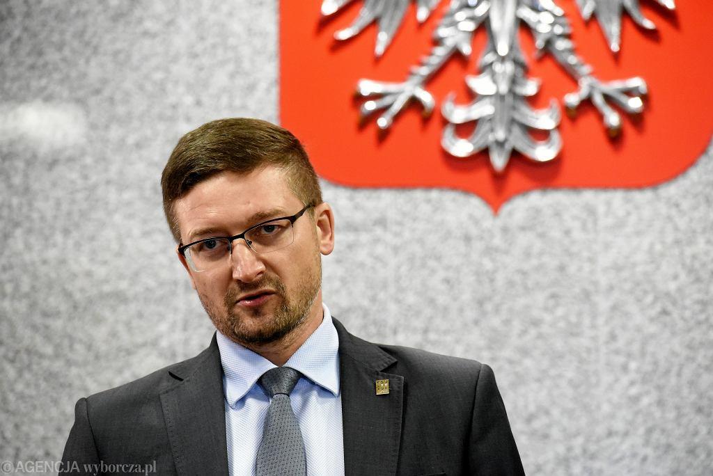 Sędzia Paweł Juszczyszyn, zdegradowany przez ministra Zbigniewa Ziobrę