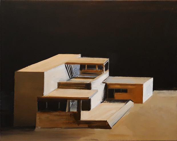 Galeria Milano, Kiesner Maria, 2018, 40x50 cm
