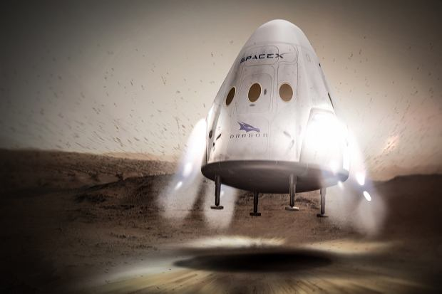 Statek SpaceX Dragon