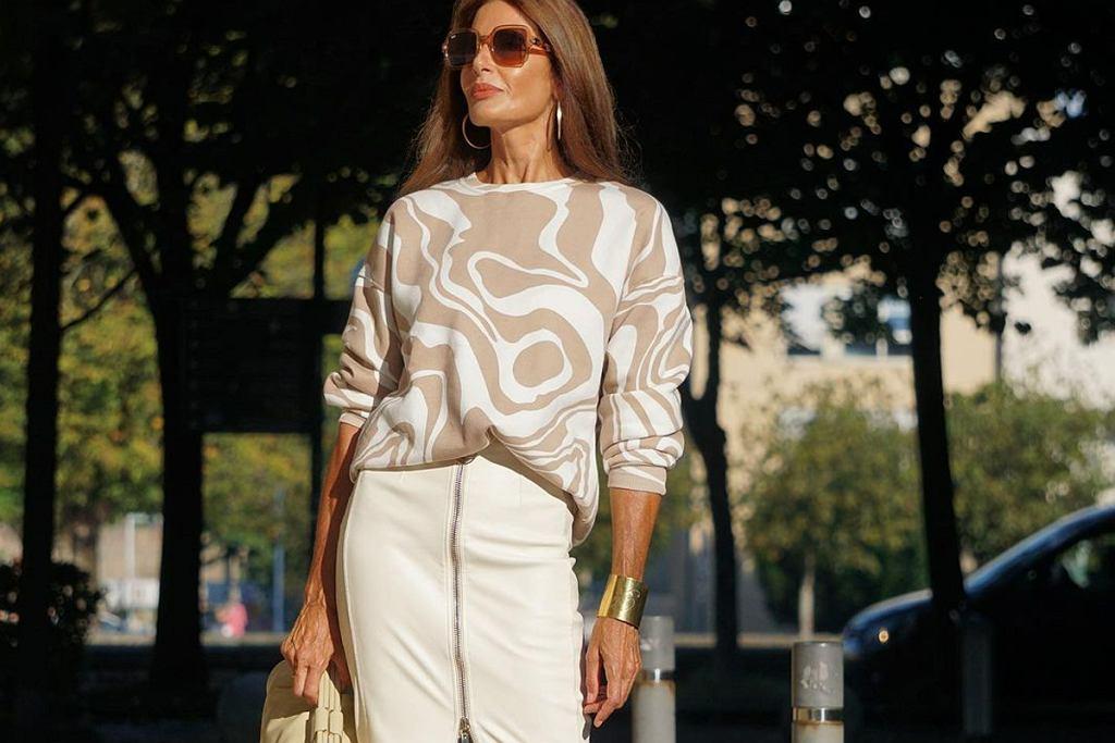 Eleganckie spódnice dla 50-tek