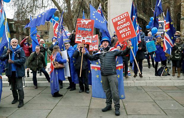Demonstracja przeciwko brexitowi