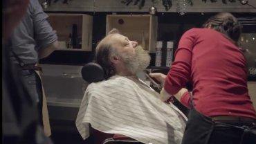 świąteczny fryzjer