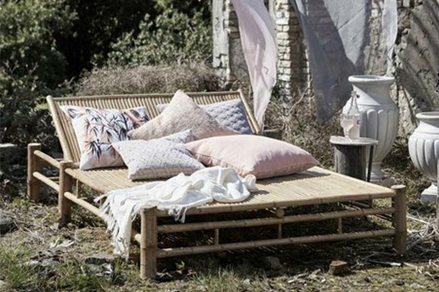 meble bambusowe - łóżko
