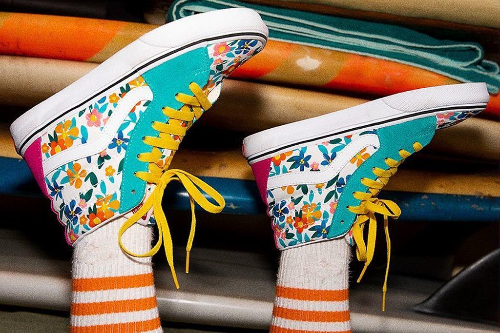 sneakersy vans wyprzedaż