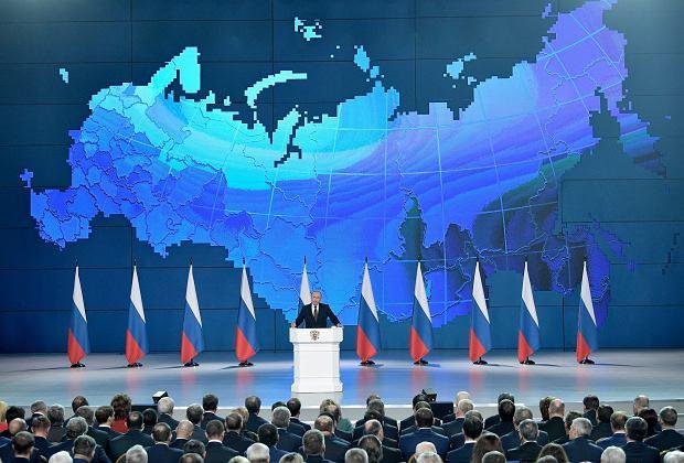 Prezydent Rosji Władymir Putin ostrzega USA