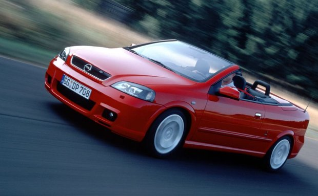 Opel Astra cabrio OPC 2002