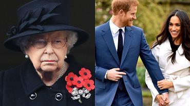 Książę Harry i Meghan Markle znowu  zrobili Elżbiecie II na złość