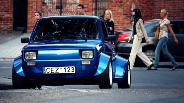 Fiat 126p Honda VTEC turbo