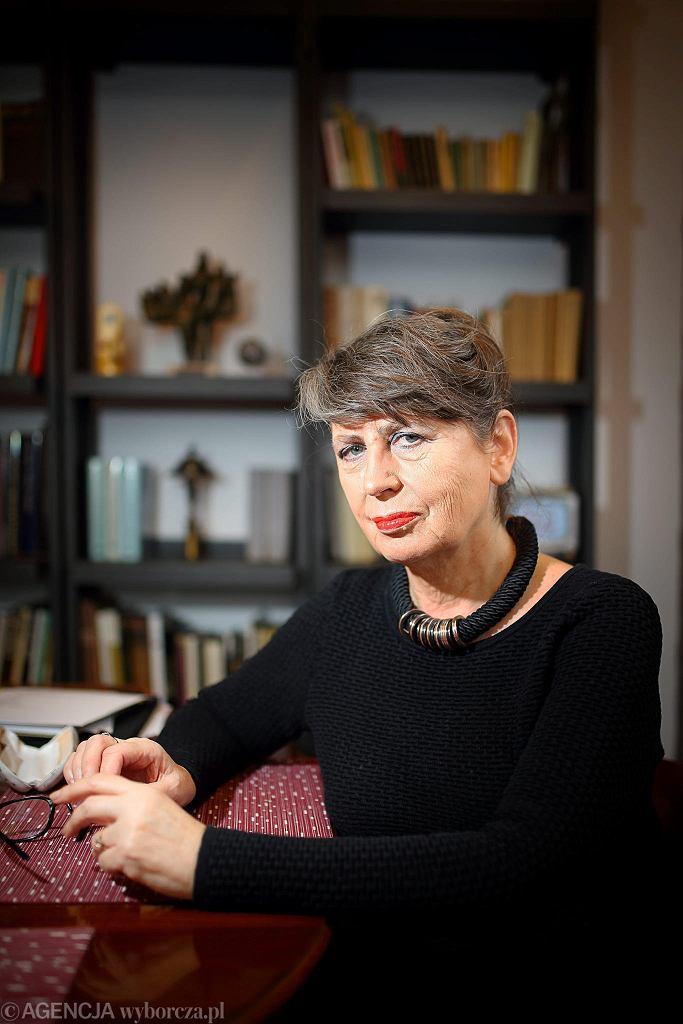 Krystyna Szostek-Radkowa na deskach Opery w Bytomiu.