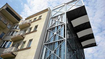 Widok z 22-metrowej wieży InfoBoxu