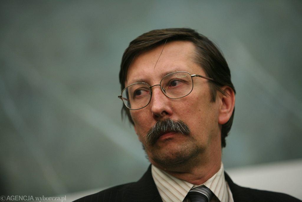 Jan Żaryn, redaktor miesięcznika