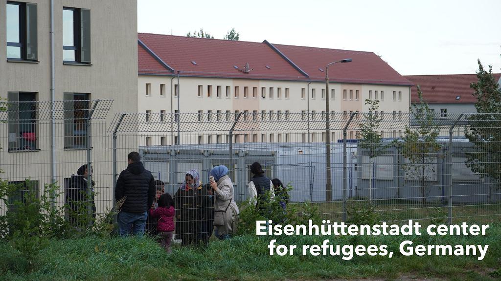Ośrodek dla uchodźców w Eisenhüttenstadt