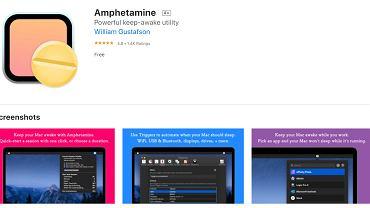 Aplikacja Amphetamine