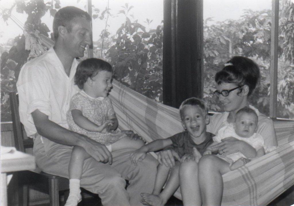 Rodzina Krüsi w 1970 roku w Tumi