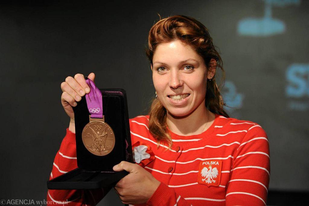 Brązowa medalistka IO w Londynie w windsurfingu Zofia Klepacka