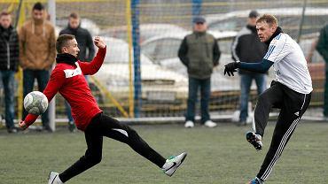 Sparing: GKS Tychy - Ruch Chorzów 5:0. Matusz Grzybek z lewej
