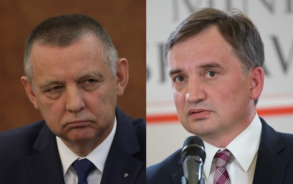Marian Banaś i Zbigniew Ziobro