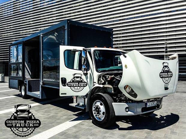Custom Pizza Truck