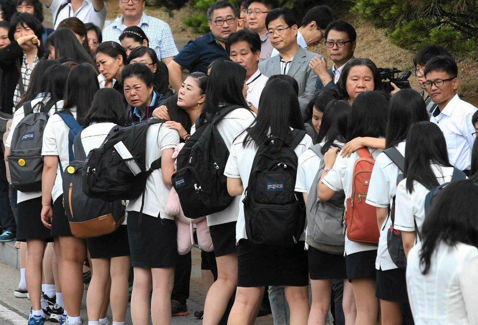 Spotyka się z koreańską dziewczyną w Ameryce