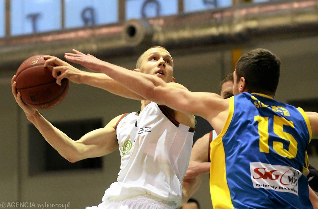W 15. kolejce I ligi koszykarze Legii pokonali SKK Siedlce 76:69