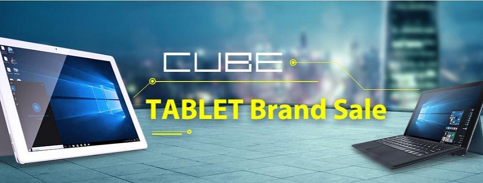 CUBE - tablety w gearbest