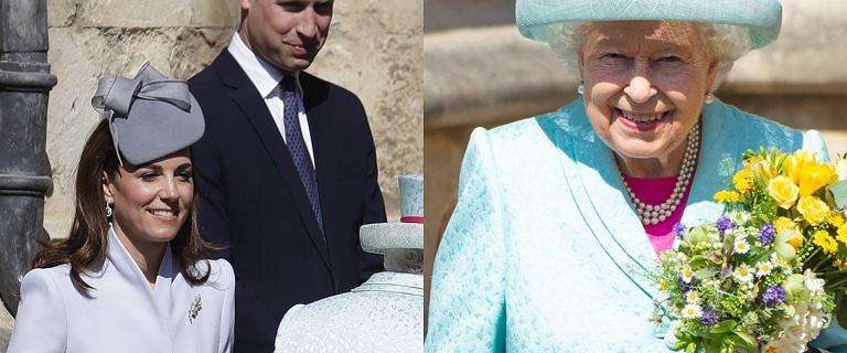 Elżbieta II świętuje 93 urodziny. Z królewską rodziną wybrała się na nabożeństwo