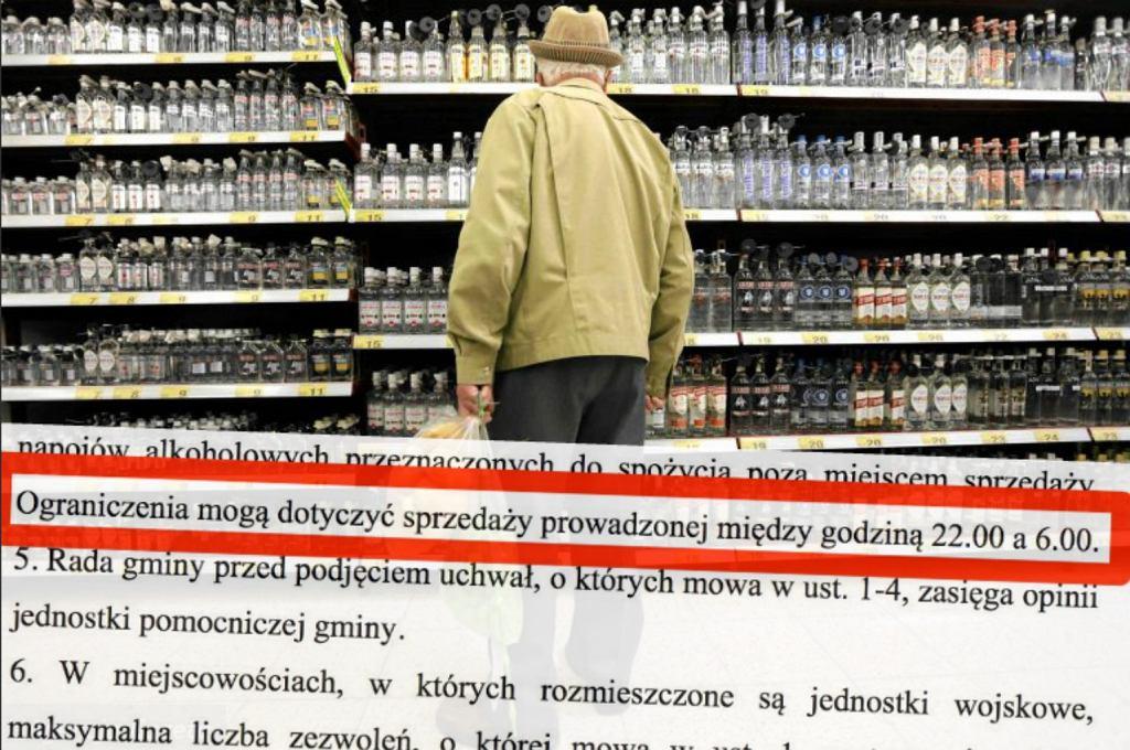 Sprzedaż alkoholu w Polsce