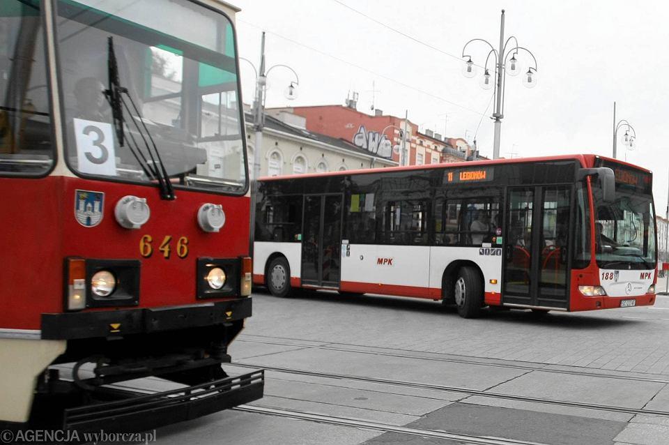 Tramwaj i autobus MPK Częstochowa