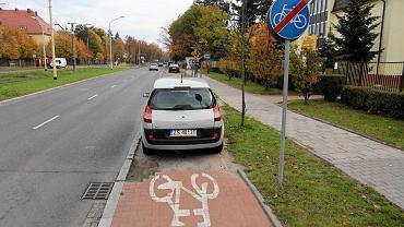 Urwana droga rowerowa na ul. Ku Słońcu. Może zostać przedłużona dzięki funduszom unijnym