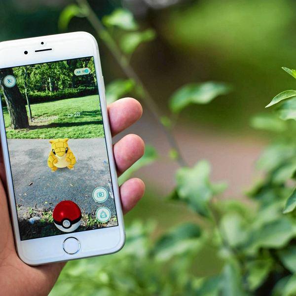 Pokemon Go w telefonie