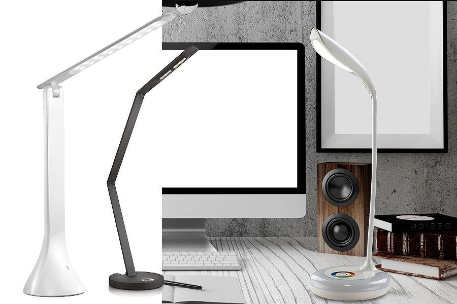 Lampki LED na biurko