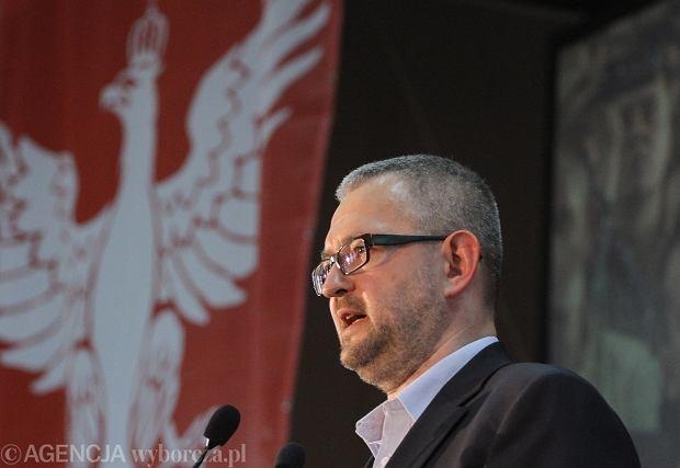 Rafał Ziemkiewicz na kongresie Ruchu Narodowego