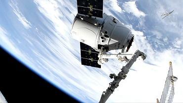 Kapsuła Dragon firmy SpaceX dotarła do Międzynarodowej Stacji Kosmicznej