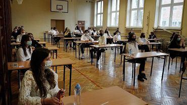Częstochowa, 17 marca 2021 r. Próbny egzamin ósmoklasistów w Szkole Podstawowej nr 38 przy ul. Sikorskiego