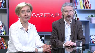 Anna Materska-Sosnowska i Rafał Chwedoruk w Poranku Gazeta.pl