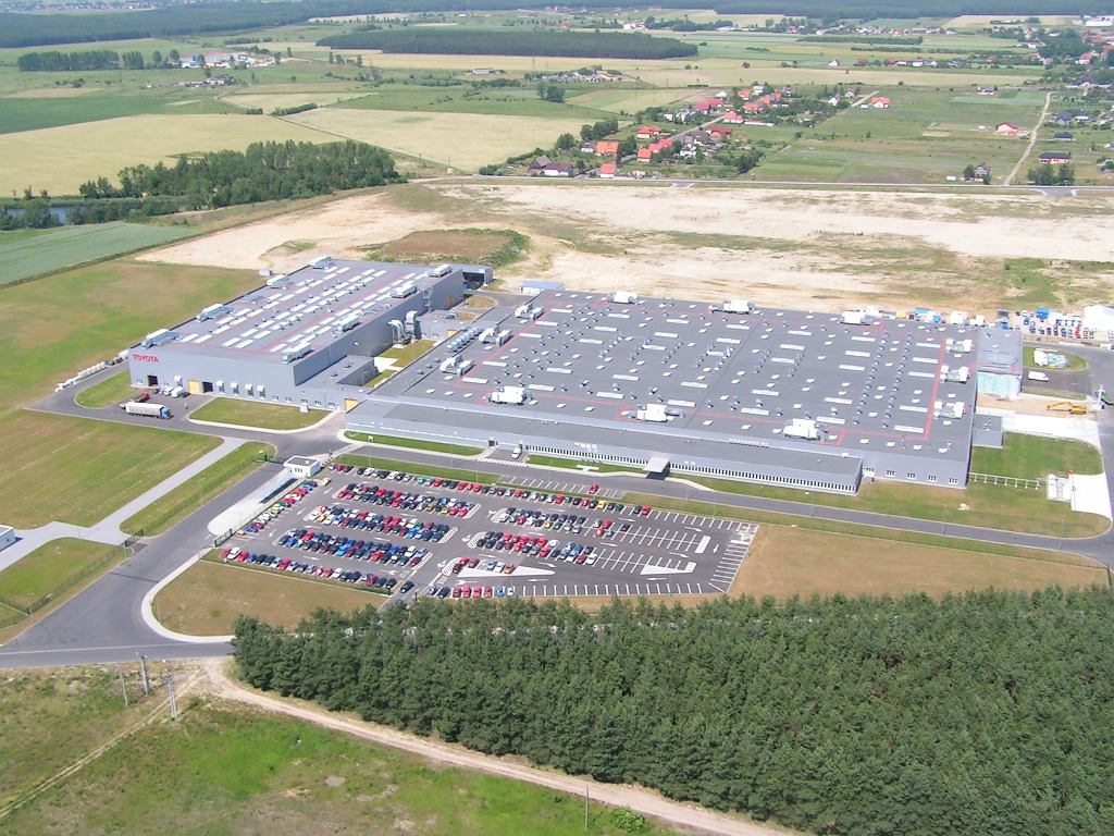 Fabryka Toyoty w Jelczu Laskowicach