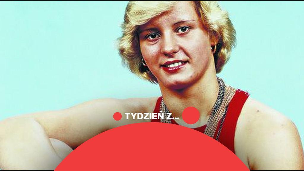 Kornelia Ender z NRD pierwsza pływaczka, która podczas jednych igrzysk zdobyła cztery złote medale