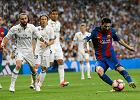 Real - Barcelona. Messi strzelił gola w 92. minucie! Czerwona kartka Ramosa