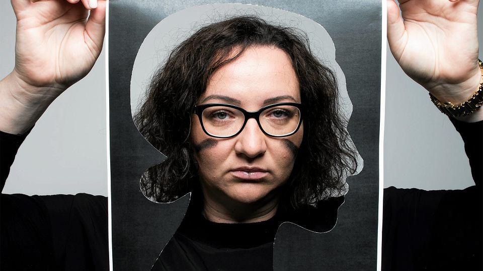Marta Lempart. Ogólnopolski Strajk Kobiet.