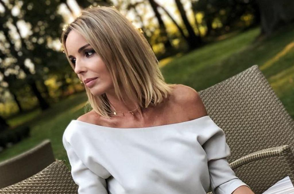 Agnieszka Włodarczyk na wesele Maślaka długo szukała kreacji: 'Wyszłam w starym kombinezonie'. Fani zachwyceni