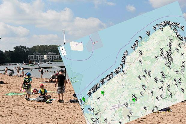 GIS uruchomił serwis kąpieliskowy z interaktywną mapą. Sprawdź ją, zanim pojedziesz nad Bałtyk