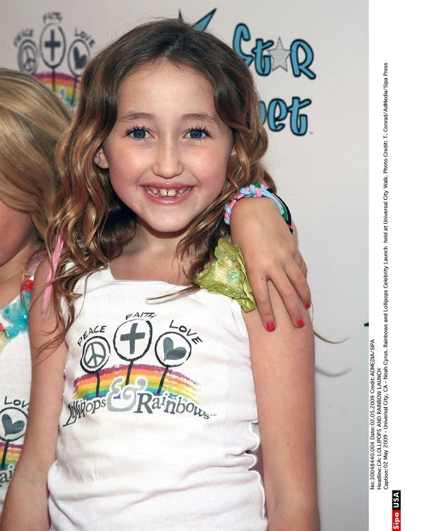 02 May 2009 - Universal City, CA - Noah Cyrus. Rainbows and Lollipops Celebrity Launch  held at Universal City Walk. Photo Credit: T. Conrad/AdMedia/Sipa Press/0905271852  30048440