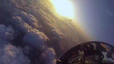 Lot odrzutowcem MIG-29