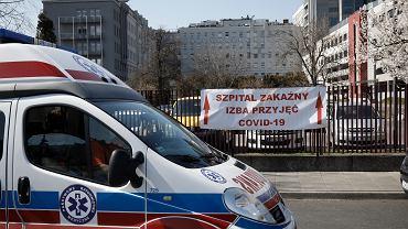 Centralny Szpital Kliniczny przy ul. Wołoskiej w Warszawie zamieniony na jednoimienny szpital dla zakażonych koronawirusem.
