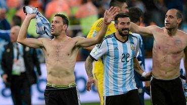 Argentyńczycy cieszą się z awansu do finału