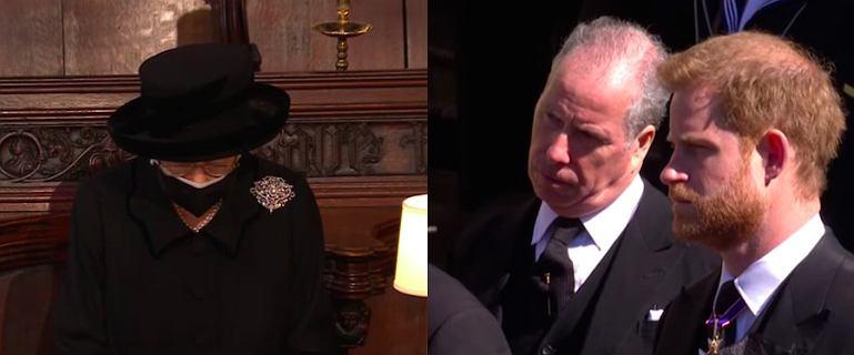 Pogrzeb księcia Filipa. Członkowie rodziny królewskiej nie kryli smutku [ZDJĘCIA]