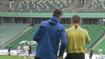 Nagranie z meczu Legia - Cracovia