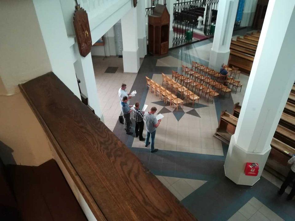 Białystok. Koncert w ramach Festiwalu Zachor w kościele św. Rocha próbowało zakłócić czterech mężczyzn